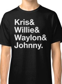 Kris Willie Waylon Johnny Classic T-Shirt
