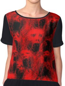 Screams of the Damned Chiffon Top