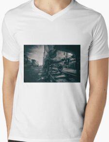 Railway Sidings Mens V-Neck T-Shirt