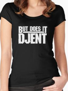 But Does It Djent Women's Fitted Scoop T-Shirt