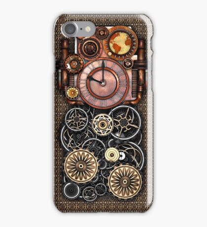 Infernal Steampunk Timepiece #2 Vintage Steampunk phone cases iPhone Case/Skin
