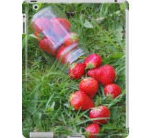 Spilling Strawberries iPad Case/Skin