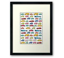 Cars for all Framed Print