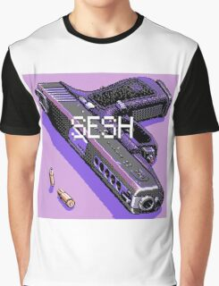 pistol and bullets Graphic T-Shirt