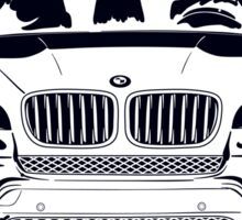 BMW x5 Sticker