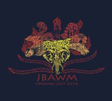 JBAWM Red Flower Kids Tee