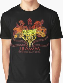 JBAWM Red Flower Graphic T-Shirt