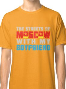The Hungry Hearts - Laika [Streets of Moscow with my Boyfriend] Classic T-Shirt