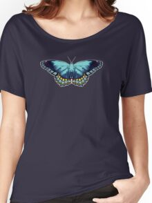 Butterfly Blue Women's Relaxed Fit T-Shirt