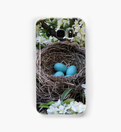 Robin Eggs Samsung Galaxy Case/Skin