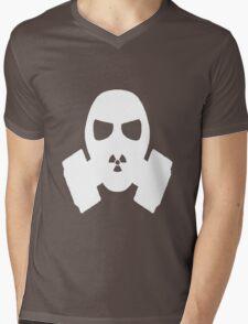 Gas mask Mens V-Neck T-Shirt