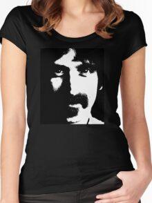 Happy Frank Zappa 1973 Women's Fitted Scoop T-Shirt