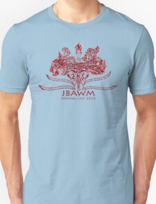 JBAWM Dark Red Flower T-Shirt