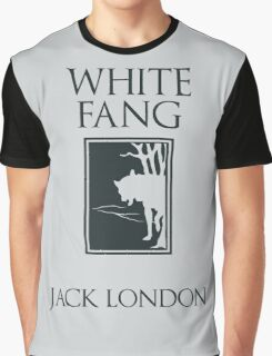 White Fang Jack London book cover Graphic T-Shirt