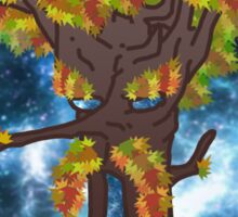 Tripped Out Tree of Wisdom Sticker