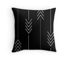 Arrows in the Night Throw Pillow