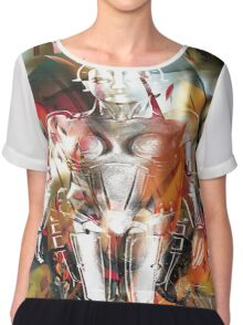 Ghost of a Robot Chiffon Top