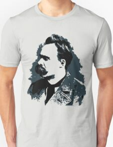 Friedrich Nietzsche portrait vector drawing  Unisex T-Shirt