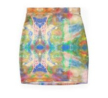 Spirit Dream ink Vibrant Colors Mini Skirt