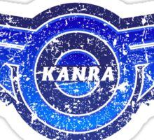 Kanra - Gunma - Prefecture of Japan - Distressed Sticker