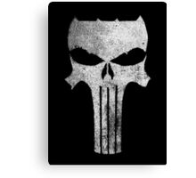 the Dark Punisher - texture Canvas Print