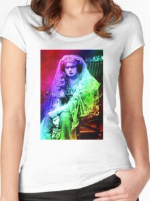 Trapped in Time Women's Fitted Scoop T-Shirt