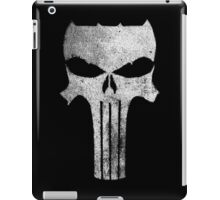the Dark Punisher - texture iPad Case/Skin