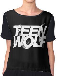Teen Wolf Chiffon Top