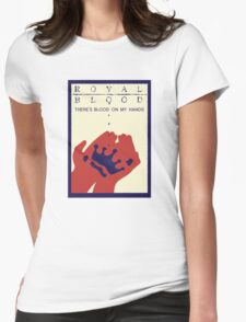 Royal Blood Movie Stylised Womens Fitted T-Shirt