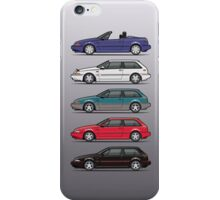 Stack of Volvo 480 iPhone Case/Skin