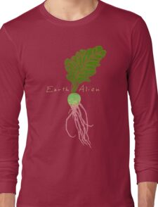 Earth Alien Watermelon Radish Long Sleeve T-Shirt