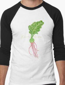 Earth Alien Watermelon Radish Men's Baseball ¾ T-Shirt