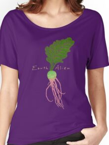 Earth Alien Watermelon Radish Women's Relaxed Fit T-Shirt