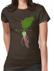 Earth Alien Watermelon Radish Womens Fitted T-Shirt