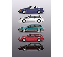Stack of Volvo 480 Photographic Print