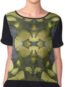 Green nature Chiffon Top
