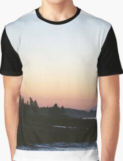 Sunrise, Acadia Maine Graphic T-Shirt