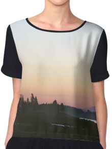Sunrise, Acadia Maine Chiffon Top