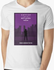 Catfish And The Bottlemen Movie Stylised Mens V-Neck T-Shirt