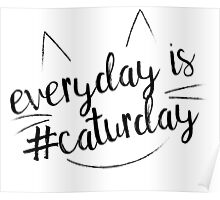 Everyday is #Caturday Poster