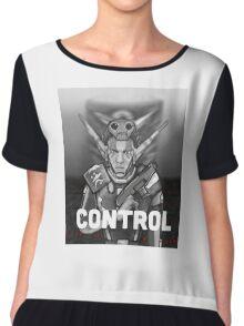 Erol: Control Chiffon Top