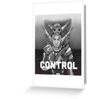 Erol: Control Greeting Card