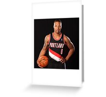damian lillard stats Greeting Card