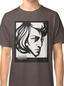 Chopin modern art deco style Classic T-Shirt