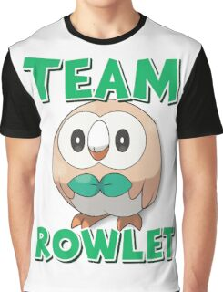 Team Rowlet ! Graphic T-Shirt
