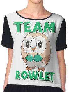 Team Rowlet ! Chiffon Top