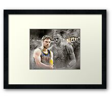 Delly for three Framed Print