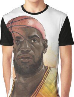 Ball Head Shape Graphic T-Shirt