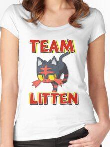Team Litten ! Women's Fitted Scoop T-Shirt