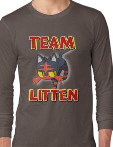 Team Litten ! Long Sleeve T-Shirt
